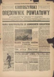 Krotoszyński Orędownik Powiatowy 1939.08.30 R.64 Nr69