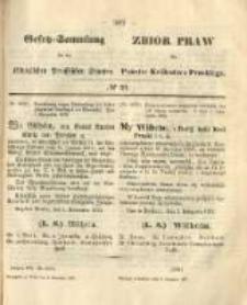 Gesetz-Sammlung für die Königlichen Preussischen Staaten. 1872.11.02 No39