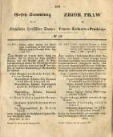 Gesetz-Sammlung für die Königlichen Preussischen Staaten. 1872.11.20 No40