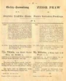Gesetz-Sammlung für die Königlichen Preussischen Staaten. 1874.02.20 No4