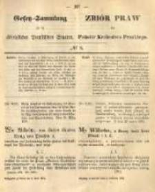 Gesetz-Sammlung für die Königlichen Preussischen Staaten. 1874.04.04 No8