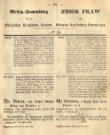 Gesetz-Sammlung für die Königlichen Preussischen Staaten. 1874.06.10 No14
