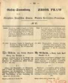 Gesetz-Sammlung für die Königlichen Preussischen Staaten. 1874.11.21 No27