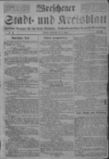 Wreschener Stadt und Kreisblatt: amtlicher Anzeiger für den Kreis Wreschen; Orędownik powiatowy dla powiatu Wrzesińskiego 1919.01.11 Nr4