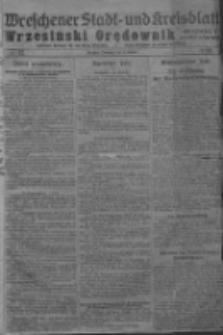 Wreschener Stadt und Kreisblatt; Wrzesiński Orędownik miejski i powiatowy: amtlicher Anzeiger für den Kreis Wreschen; organ urzędowy na powiat wrzesiński 1919.02.11 Nr17