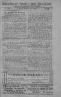 Wreschener Stadt und Kreisblatt; Wrzesiński Orędownik miejski i powiatowy: amtlicher Anzeiger für den Kreis Wreschen; organ urzędowy na powiat wrzesiński 1919.05.15 Nr56