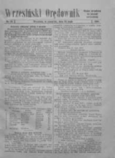 Wrzesiński Orędownik: organ urzędowy za powiat wrzesiński 1919.05.22 Nr59 (wydanie polskie)