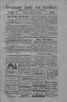 Wreschener Stadt und Kreisblatt: amtlicher Anzeiger für den Kreis Wreschen 1919.08.09 Nr93