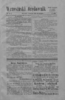 Wrzesiński Orędownik: organ urzędowy za powiat wrzesiński 1919.08.21 Nr98 (wydanie polskie)