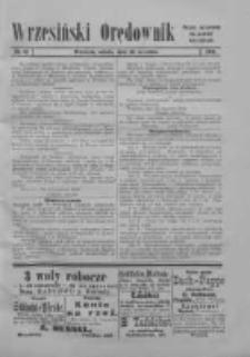Wrzesiński Orędownik: organ urzędowy za powiat wrzesiński 1919.09.20 Nr111 (wydanie polskie)