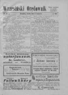 Wrzesiński Orędownik: organ urzędowy za powiat wrzesiński 1919.11.08 Nr132 (wydanie polskie)