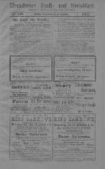 Wreschener Stadt und Kreisblatt: amtlicher Anzeiger für den Kreis Wreschen 1919.12.18 Nr148