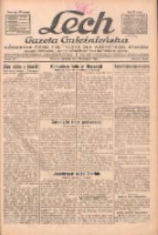 """Lech.Gazeta Gnieźnieńska: codzienne pismo polityczne dla wszystkich stanów. Dodatki: tygodniowy """"Lechita"""" i powieściowy oraz dwutygodnik """"Leszek"""" 1932.01.28 R.33 Nr22"""