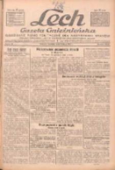 """Lech.Gazeta Gnieźnieńska: codzienne pismo polityczne dla wszystkich stanów. Dodatki: tygodniowy """"Lechita"""" i powieściowy oraz dwutygodnik """"Leszek"""" 1932.02.07 R.33 Nr30"""