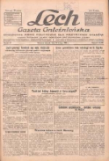 """Lech.Gazeta Gnieźnieńska: codzienne pismo polityczne dla wszystkich stanów. Dodatki: tygodniowy """"Lechita"""" i powieściowy oraz dwutygodnik """"Leszek"""" 1932.02.16 R.33 Nr37"""