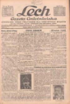 """Lech.Gazeta Gnieźnieńska: codzienne pismo polityczne dla wszystkich stanów. Dodatki: tygodniowy """"Lechita"""" i powieściowy oraz dwutygodnik """"Leszek"""" 1932.02.20 R.33 Nr41"""