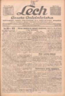 """Lech.Gazeta Gnieźnieńska: codzienne pismo polityczne dla wszystkich stanów. Dodatki: tygodniowy """"Lechita"""" i powieściowy oraz dwutygodnik """"Leszek"""" 1932.02.24 R.33 Nr44"""