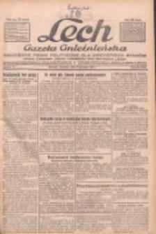 """Lech.Gazeta Gnieźnieńska: codzienne pismo polityczne dla wszystkich stanów. Dodatki: tygodniowy """"Lechita"""" i powieściowy oraz dwutygodnik """"Leszek"""" 1932.04.03 R.33 Nr77"""