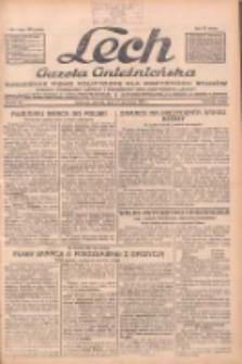 """Lech.Gazeta Gnieźnieńska: codzienne pismo polityczne dla wszystkich stanów. Dodatki: tygodniowy """"Lechita"""" i powieściowy oraz dwutygodnik """"Leszek"""" 1932.04.12 R.33 Nr84"""