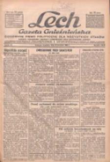 """Lech.Gazeta Gnieźnieńska: codzienne pismo polityczne dla wszystkich stanów. Dodatki: tygodniowy """"Lechita"""" i powieściowy oraz dwutygodnik """"Leszek"""" 1932.04.24 R.33 Nr95"""