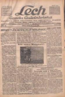 """Lech.Gazeta Gnieźnieńska: codzienne pismo polityczne dla wszystkich stanów. Dodatki: tygodniowy """"Lechita"""" i powieściowy oraz dwutygodnik """"Leszek"""" 1932.05.31 R.32 Nr122"""