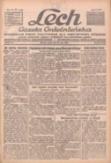 """Lech.Gazeta Gnieźnieńska: codzienne pismo polityczne dla wszystkich stanów. Dodatki: tygodniowy """"Lechita"""" i powieściowy oraz dwutygodnik """"Leszek"""" 1932.05.25 R.33 Nr118"""