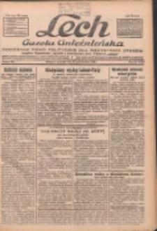 """Lech.Gazeta Gnieźnieńska: codzienne pismo polityczne dla wszystkich stanów. Dodatki: tygodniowy """"Lechita"""" i powieściowy oraz dwutygodnik """"Leszek"""" 1932.10.13 R.33 Nr236"""