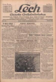 """Lech.Gazeta Gnieźnieńska: codzienne pismo polityczne dla wszystkich stanów. Dodatki: tygodniowy """"Lechita"""" i powieściowy oraz dwutygodnik """"Leszek"""" 1932.10.23 R.33 Nr245"""
