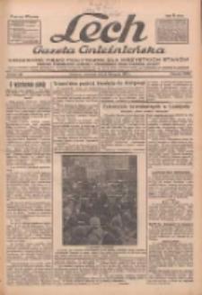 """Lech.Gazeta Gnieźnieńska: codzienne pismo polityczne dla wszystkich stanów. Dodatki: tygodniowy """"Lechita"""" i powieściowy oraz dwutygodnik """"Leszek"""" 1932.11.03 R.33 Nr253"""
