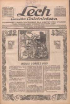 """Lech.Gazeta Gnieźnieńska: codzienne pismo polityczne dla wszystkich stanów. Dodatki: tygodniowy """"Lechita"""" i powieściowy oraz dwutygodnik """"Leszek"""" 1932.12.25 R.33 Nr297"""