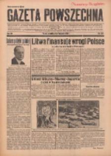 Gazeta Powszechna 1937.11.07 R.20 Nr259