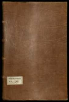 Księga kancelaryjna króla Zygmunta Augusta 1548-1567.