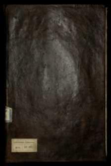 Mowy i listy in materia status rer[um] Polon[arum] circa Annum 1688 ad 1693