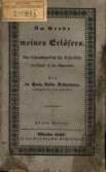 Am Grabe meines Erlösers : ein Erbauungsbuch für Katholiken verzäglich in der Charwoche / von Hermann Ludwig Nadermann.