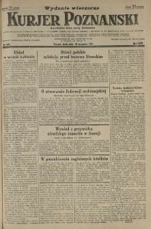 Kurier Poznański 1931.09.16 R.26 nr 424