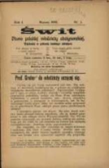 Świt. R. 1, 1908, nr 3