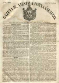 Gazeta Wielkiego Xięstwa Poznańskiego 1854.01.04 Nr3