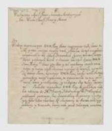 Dokumenty dotyczące rodziny Raczyńskich, T. I