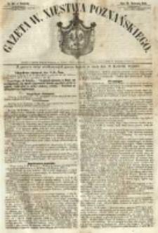 Gazeta Wielkiego Xięstwa Poznańskiego 1854.04.16 Nr90
