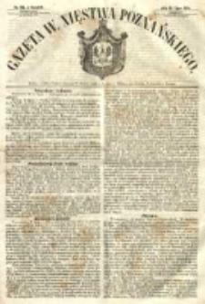 Gazeta Wielkiego Xięstwa Poznańskiego 1854.07.13 Nr161