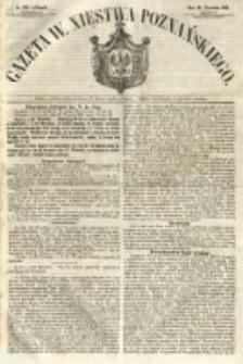 Gazeta Wielkiego Xięstwa Poznańskiego 1854.09.26 Nr225