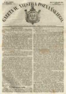 Gazeta Wielkiego Xięstwa Poznańskiego 1854.10.15 Nr242