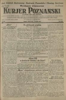 Kurier Poznański 1931.08.11 R.26 nr 364