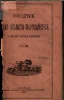 Rocznik Kółek Rolniczo-Włościańskich w Wielkiem Księstwie Poznańskiem. 1892 T.17