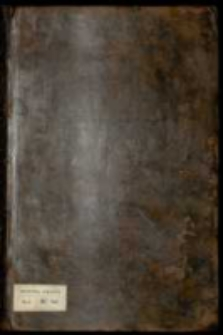 Commissya w Zuppach Wielickich y Bochenskich tudzież na komorach solnych Mazowieckich y składach Wielkopolskich, za [...] Augusta III [...] przy odebraniu onychże z rąk administracyi królewskiey a oddaniu [...] Teodorowi Wesselowi, podskarbiemu wielkiemu koronnemu w dożywotnią a die 1ma Julij 1762 dzierżawę y administracyą [...] 11 Aprilis 1763 zakonczona