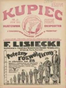 Kupiec Tygodnik: najstarszy tygodnik kupiecko- przemysłowy w Polsce 1927.04.30 R.21 Nr17; III Międzynarodowe Targi Poznańskie od 1-go do 8-go maja 1927