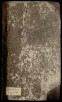 Odpisy akt, korespondencji i utworów okolicznościowych z lat 1733-1735