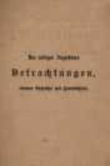 Des heiligen Augustinus Betrachtungen, einsame Gespräche und Handbüchlein