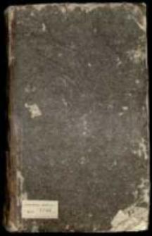 Manuskrypt albo księga rzeczy inflantskie Kurlandyi y Semigallii w sobie zawierająca