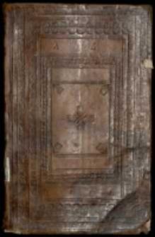 Tomus [ter]tius Manuscripta Jmć P[a]na Adama Żychlinskiego potym Kasztellana Lendzkiego potym miedzirzeckiego, Ręką Jego własną w młodszym wieku pisane